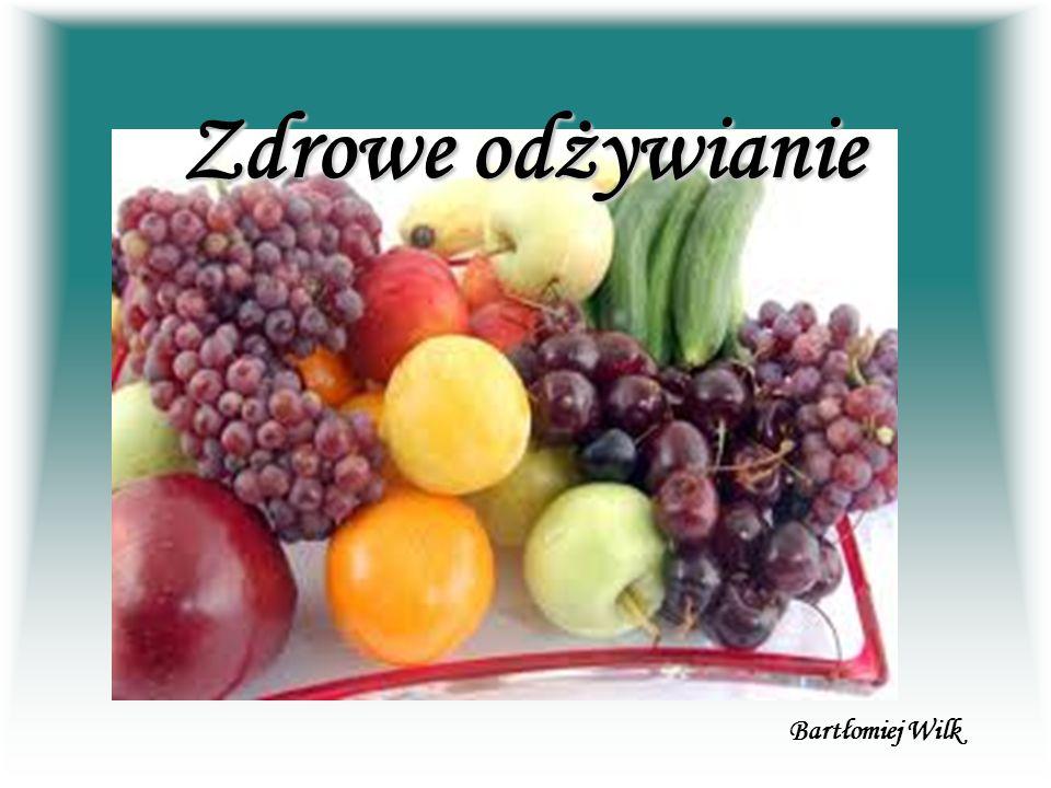 Zasady zdrowego odżywiania Zdrowe i racjonalne odżywianie jest jednym z najważniejszych czynników wpływających na jakość i długość życia.