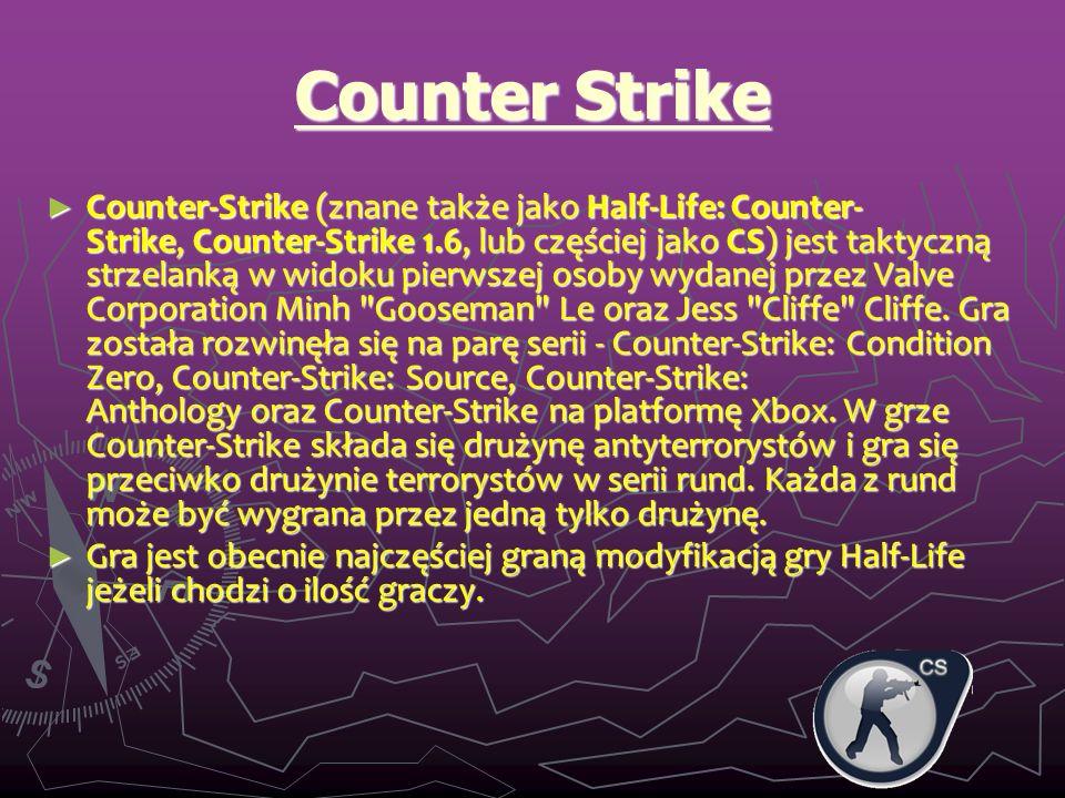 Oszukiwanie 1 Counter Strike jest głównym celem wielu hakerów od pocz ą tku jego istnienia.