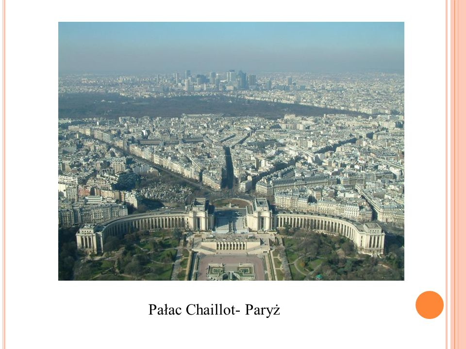 Pałac Chaillot- Paryż