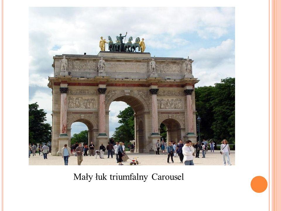 Mały łuk triumfalny Carousel