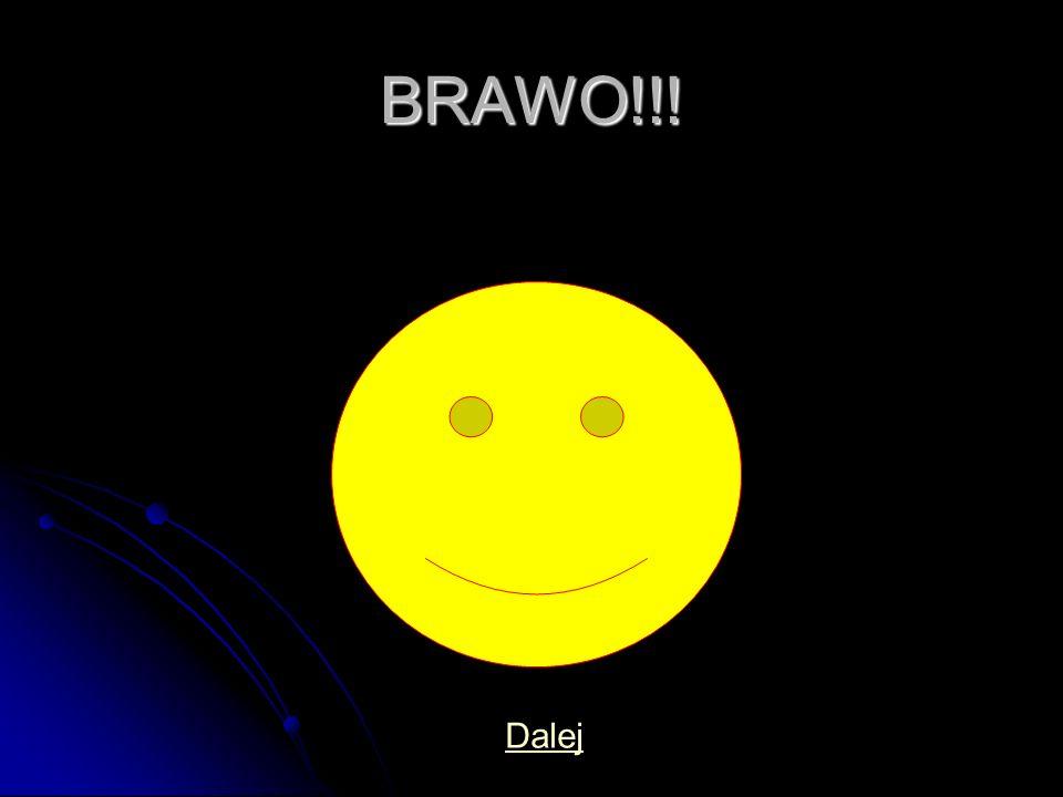 BRAWO!!! Dalej