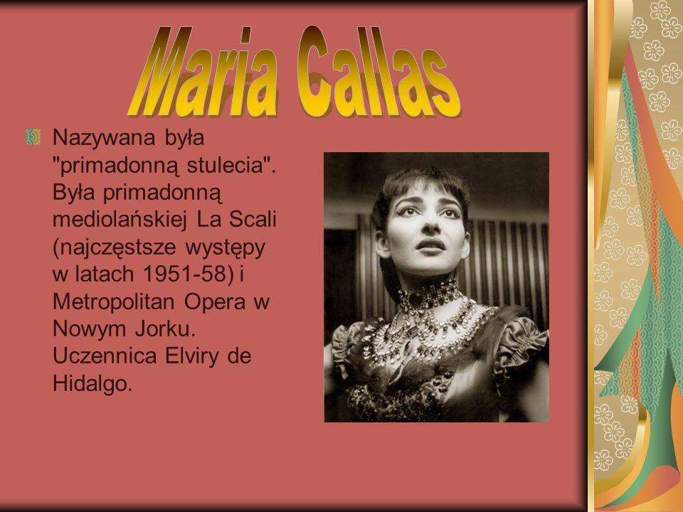 Była obdarzona sopranem dramatycznym (soprano dramatico d agilita) ze zdolnościami do wykonywania partii koloraturowych.