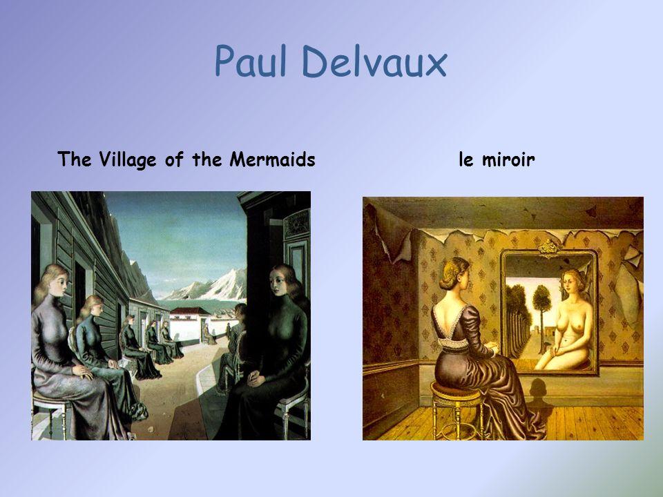 Paul Delvaux The Village of the Mermaidsle miroir