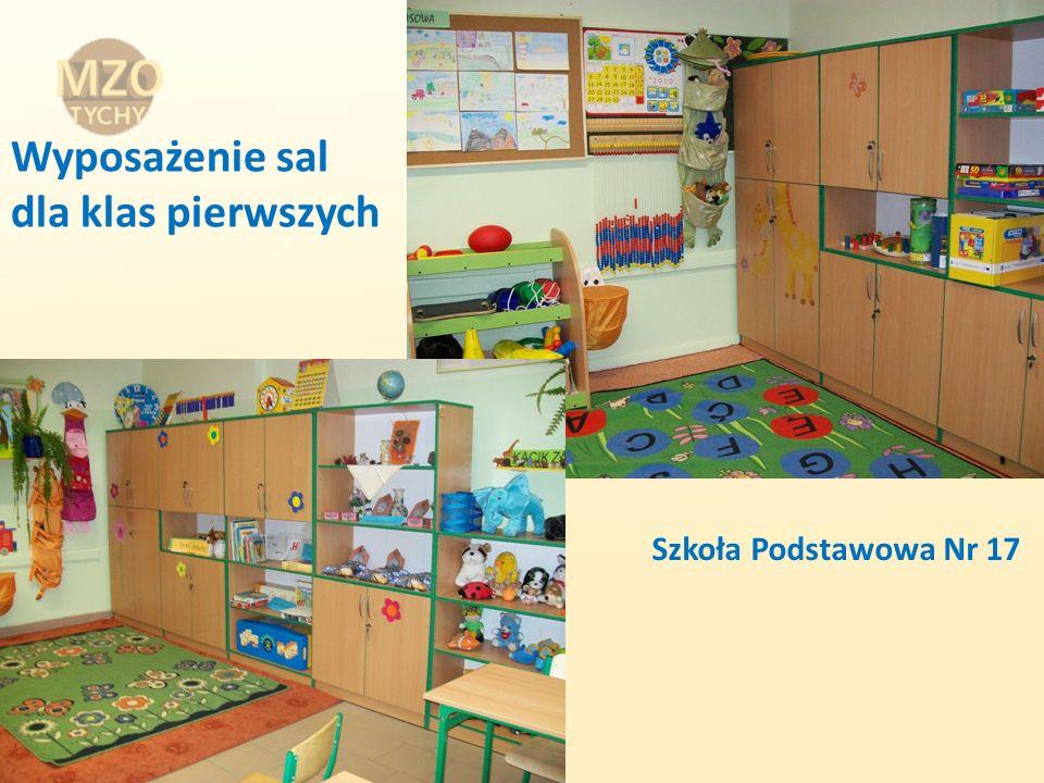 Wyposażenie sal dla klas pierwszych Szkoła Podstawowa Nr 17