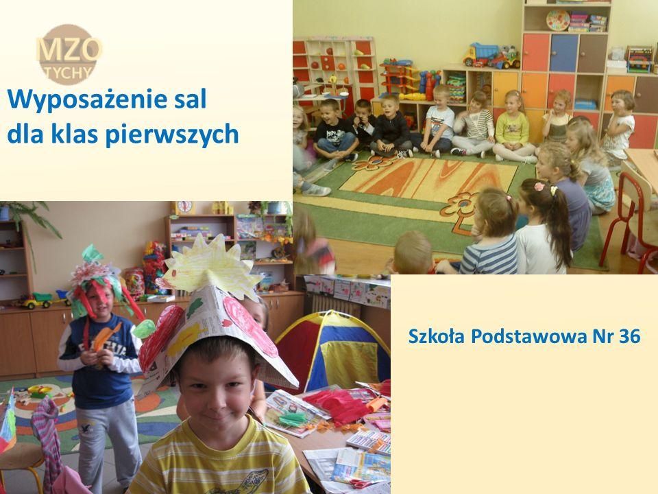 Wyposażenie sal dla klas pierwszych Szkoła Podstawowa Nr 36