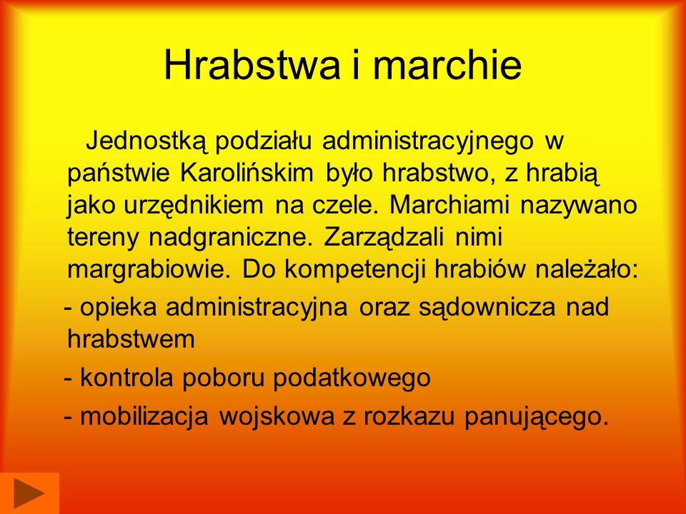 Margrabiowie posiadali kompetencje szersze, a to ze względu na graniczne położenie marchii, oraz potrzebę zapewnienia państwu bezpieczeństwa na wspomnianych obszarach.