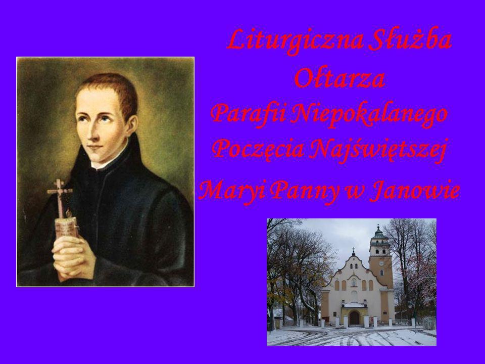 Liturgiczna Służba Ołtarza Parafii Niepokalanego Poczęcia Najświętszej Maryi Panny w Janowie