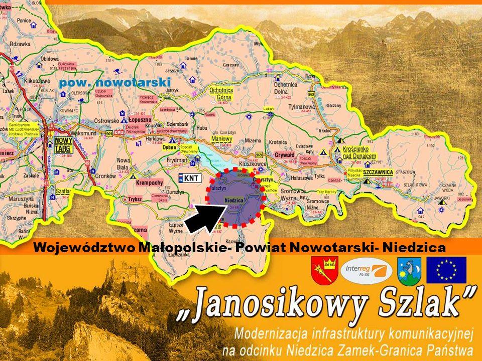 Województwo Małopolskie- Powiat Nowotarski- Niedzica