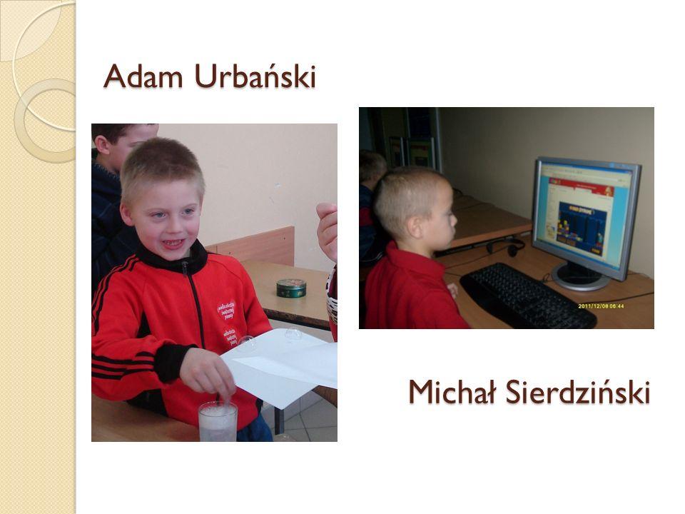 Adam Urbański Michał Sierdziński