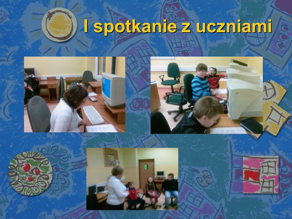 I spotkanie z uczniami