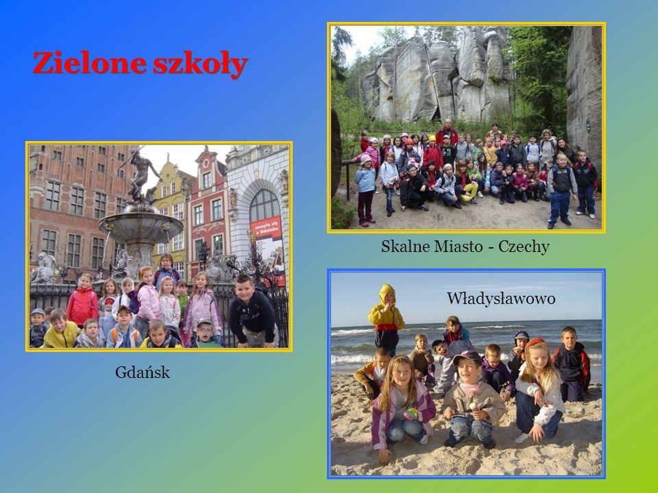 Zielone szkoły Gdańsk Władysławowo Skalne Miasto - Czechy