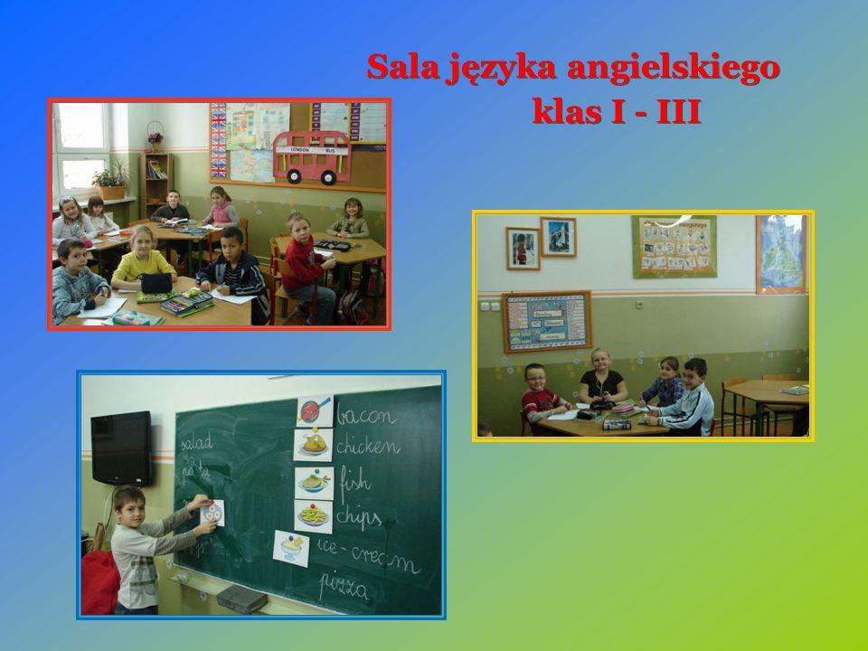 Sala języka angielskiego klas I - III