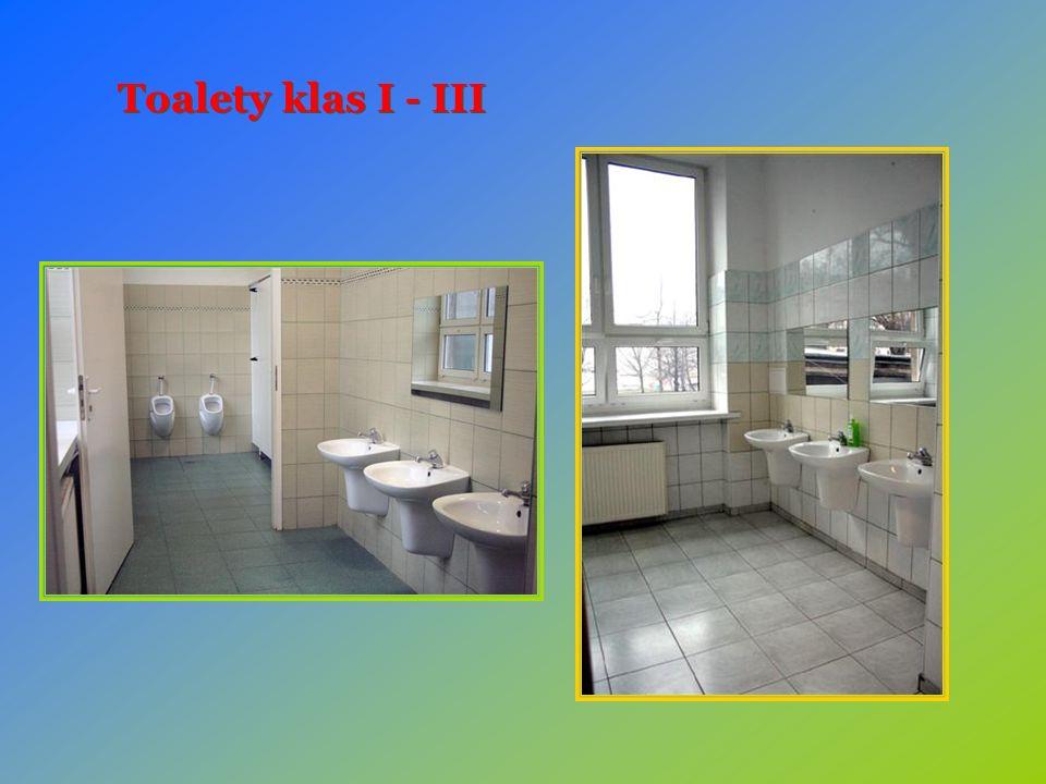 Toalety klas I - III