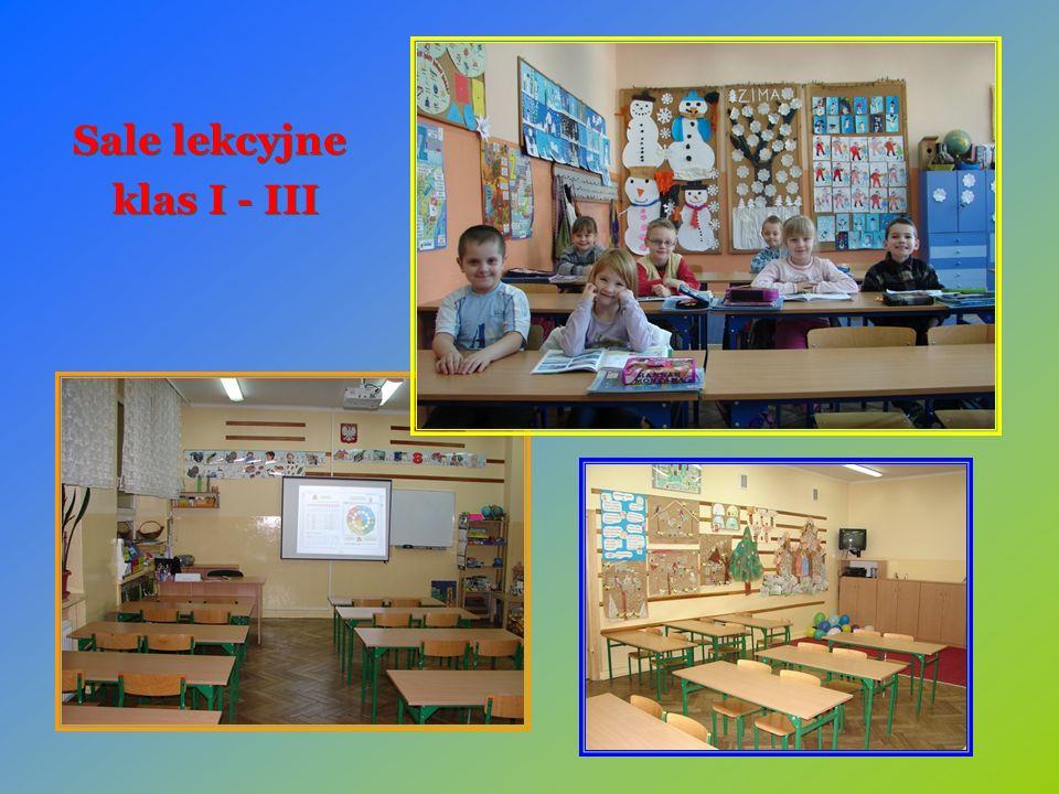 Sale lekcyjne klas I - III Sale lekcyjne klas I - III