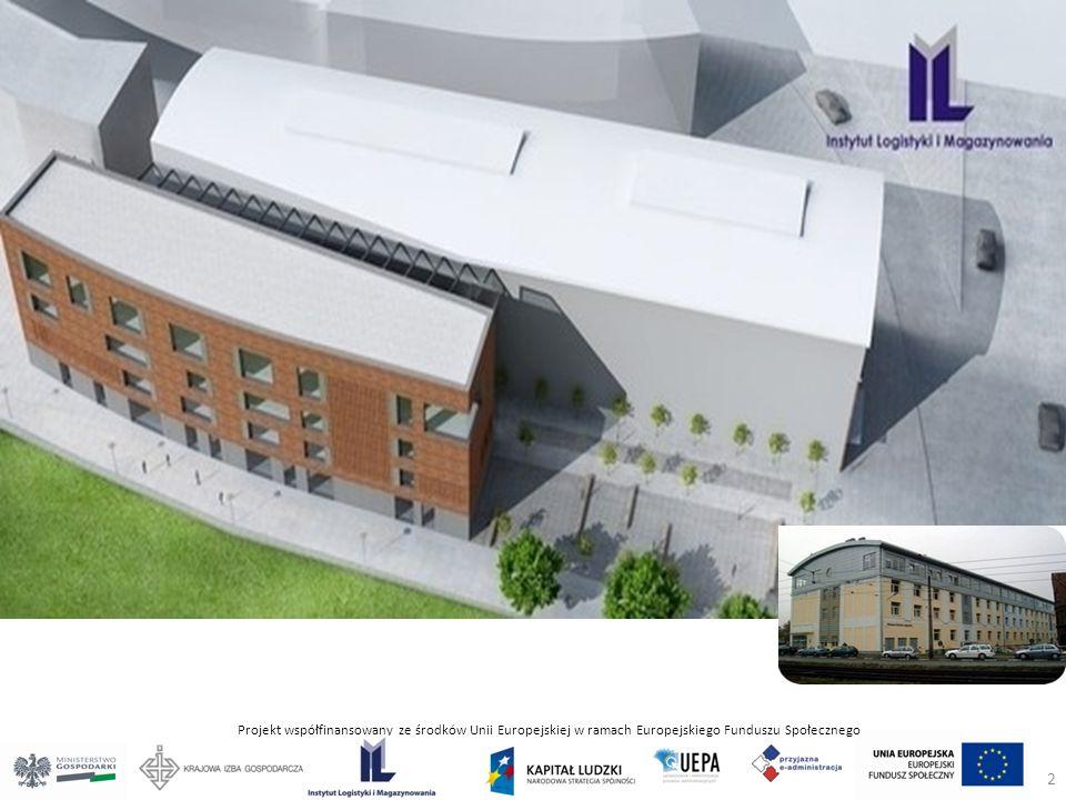 Projekt współfinansowany ze środków Unii Europejskiej w ramach Europejskiego Funduszu Społecznego 2