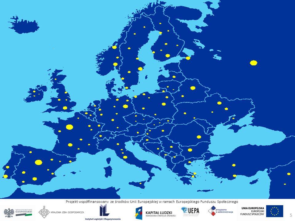 Projekt współfinansowany ze środków Unii Europejskiej w ramach Europejskiego Funduszu Społecznego ILiM w kraju i w Europie 5