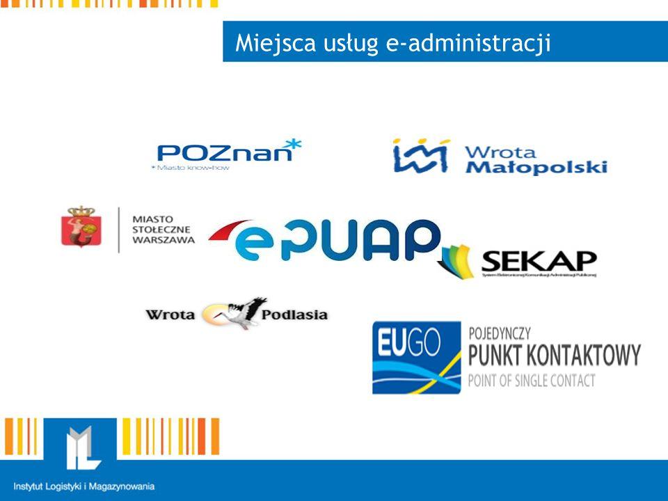 Miejsca usług e-administracji