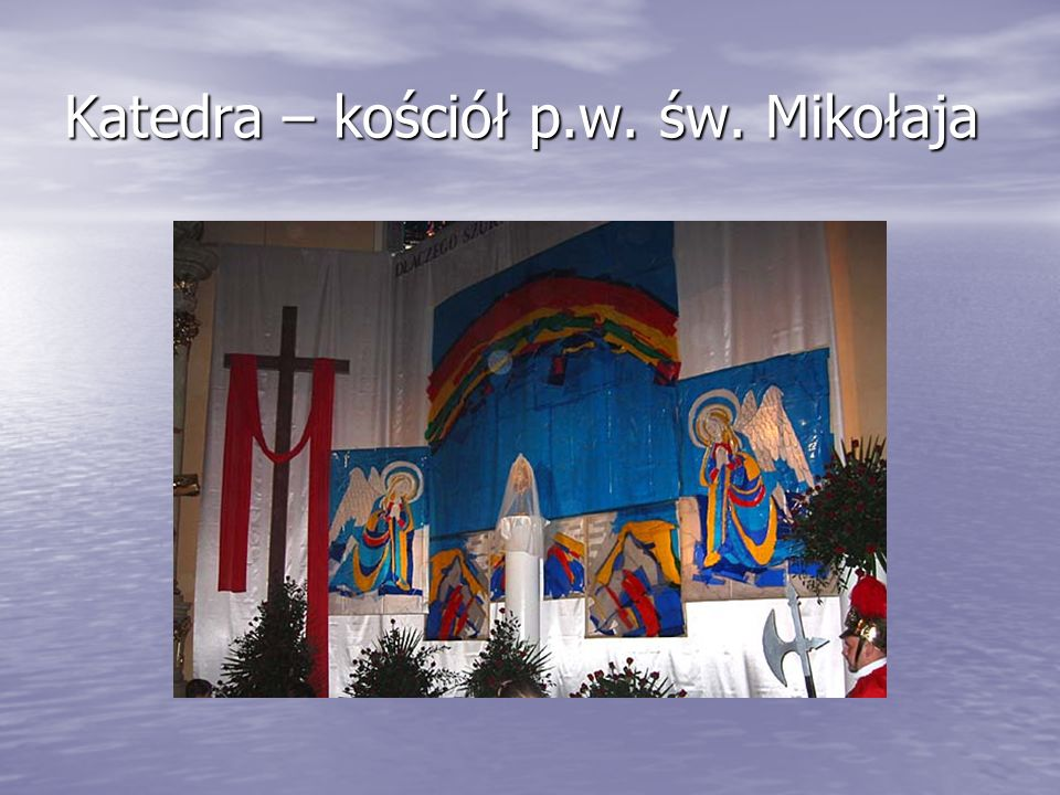 Kościół klasztorny Ojców Jezuitów w Kaliszu – Sanktuarium Serca Jezusa Miłosiernego.