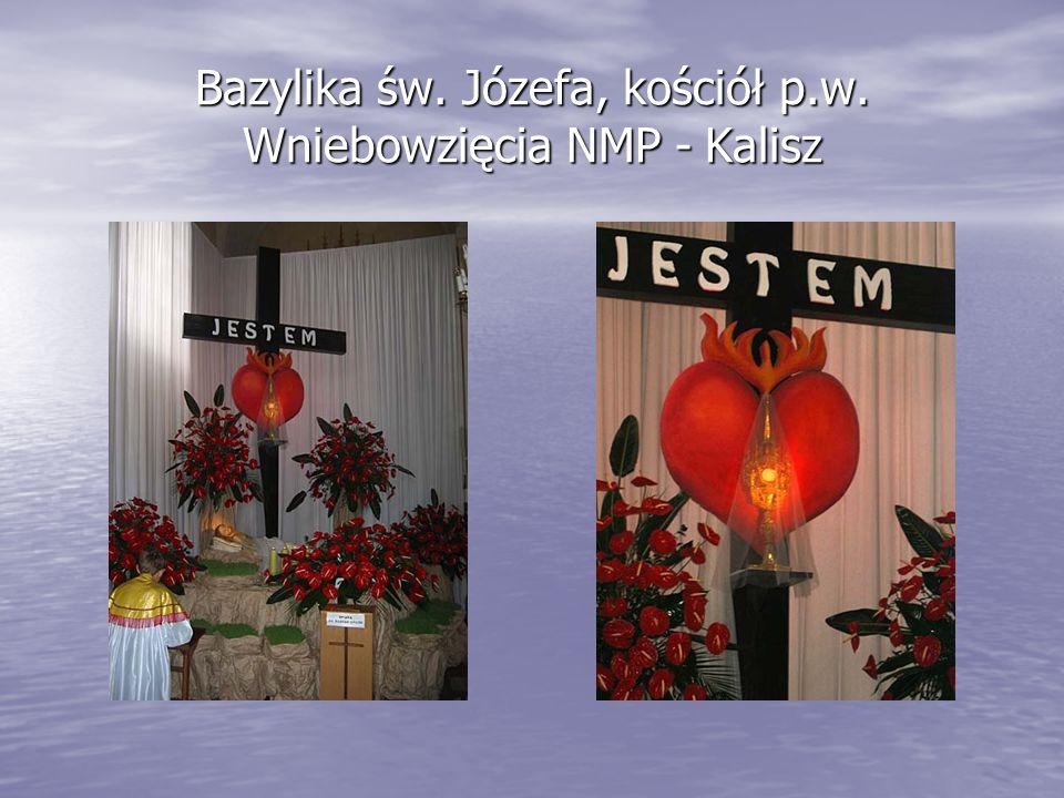 Bazylika św. Józefa, kościół p.w. Wniebowzięcia NMP - Kalisz