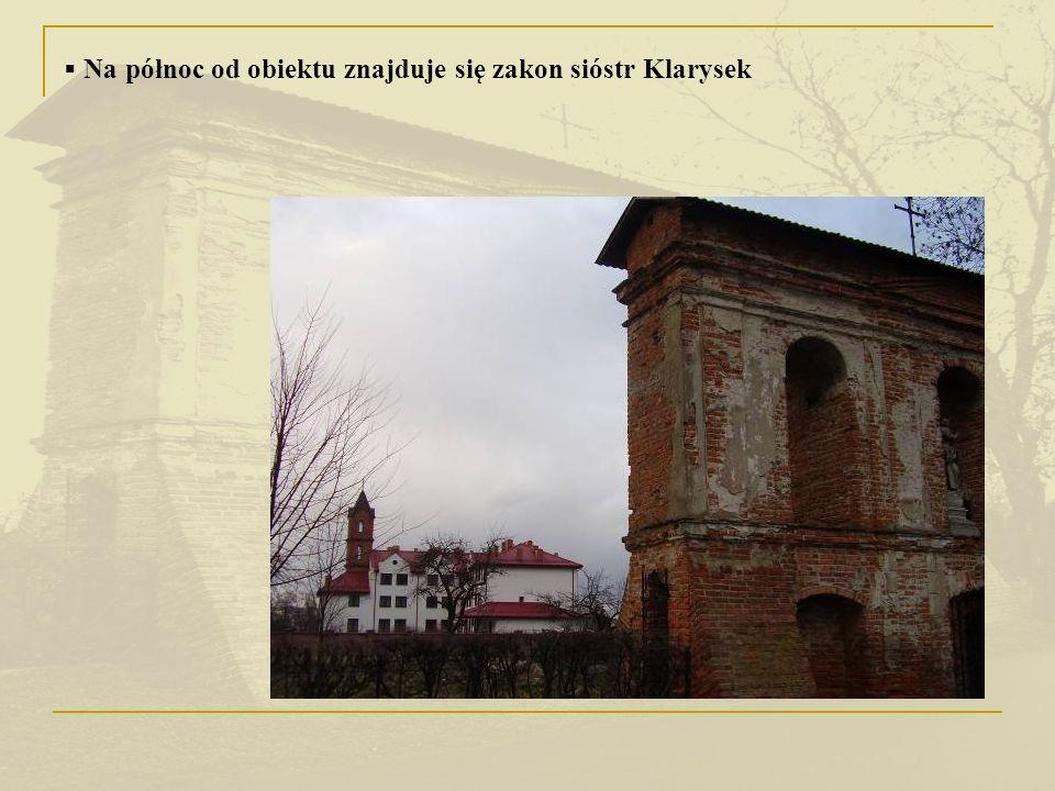 Historia obiektu Dzwonnica wybudowana została w 1741 r.