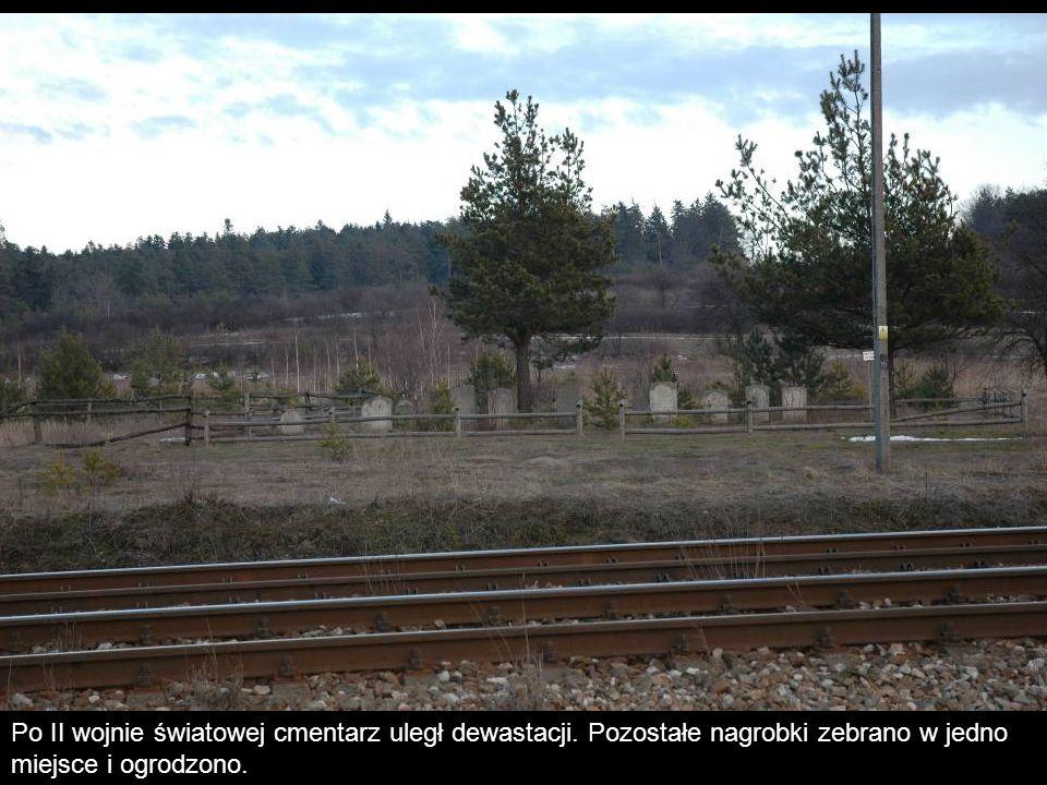 Nie są znane pierwotne granice cmentarza, prawdopodobnie zajmował on powierzchnię ok.