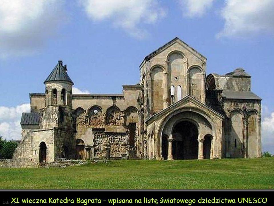 Daktylek Monastyr Gelati – XII w. - wpisany na listę światowego dziedzictwa UNESCO