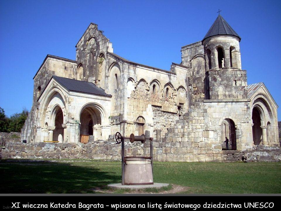 Daktylek XI wieczna Katedra Bagrata – wpisana na listę światowego dziedzictwa UNESCO