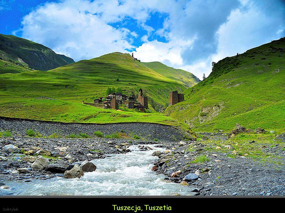 Daktylek Tuszecja, Tuszetia (Tusheti) pogranicze Czeczenii i Dagestanu.