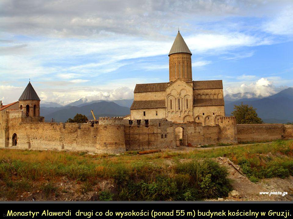 Daktylek Monastyr Alawerdi z pierwszej połowy XI wieku.