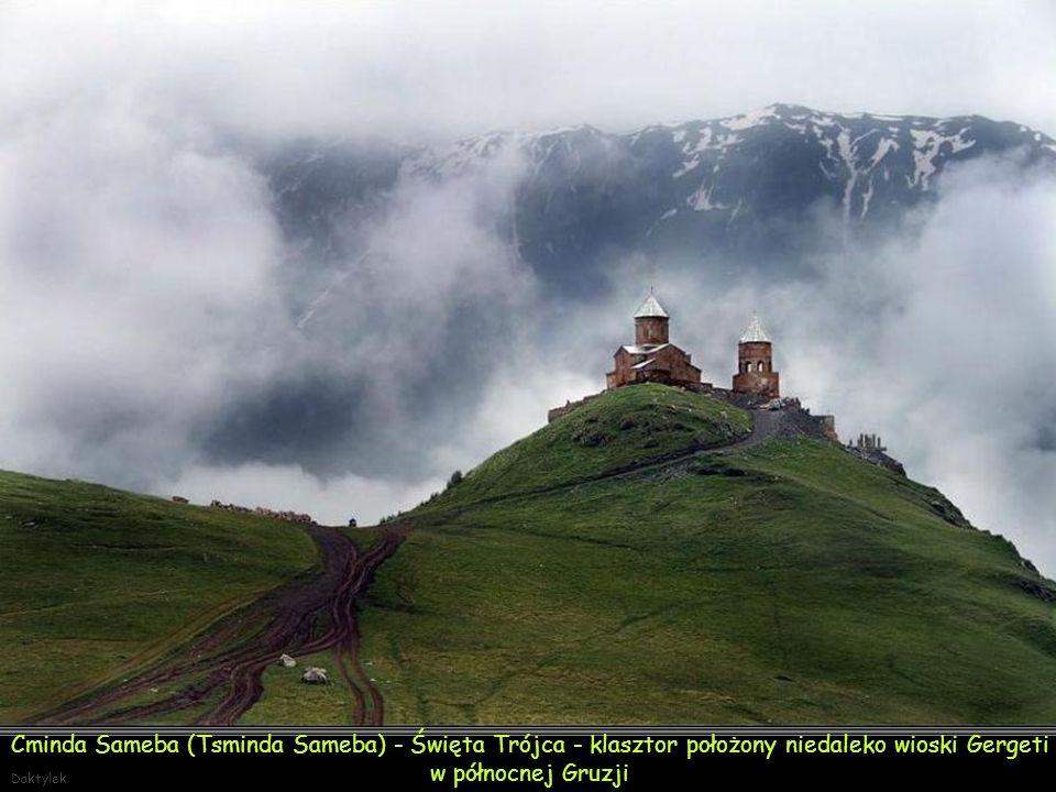 Daktylek Ikalto - Ruiny akademii zburzonej przez Persów w XVII w.