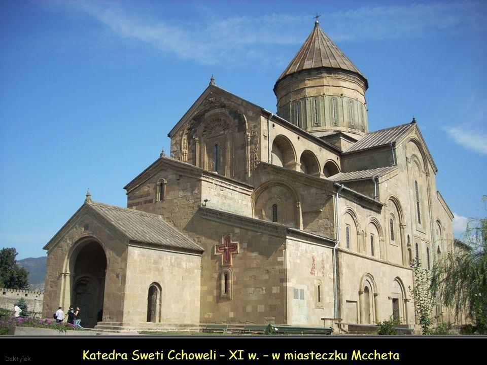 Daktylek Katedra Sweti Cchoweli – XI w. – w miasteczku Mccheta