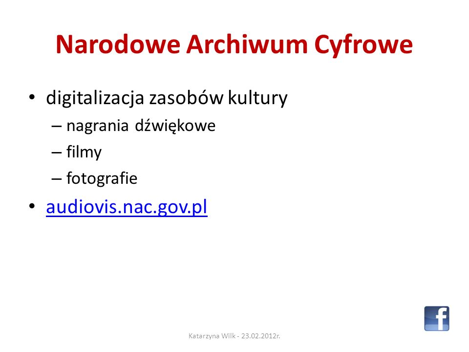 knowledge pills videocasts educational networking Katarzyna Wilk - 23.02.2012r.