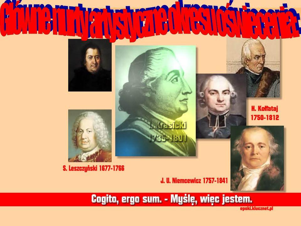 Klasycyzm Klasycyzm: CEL :pokazanie prawdy i piękna - Narodził się we Francji w połowie XVII w.