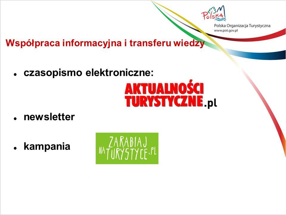 Współpraca informacyjna i transferu wiedzy czasopismo elektroniczne: newsletter kampania