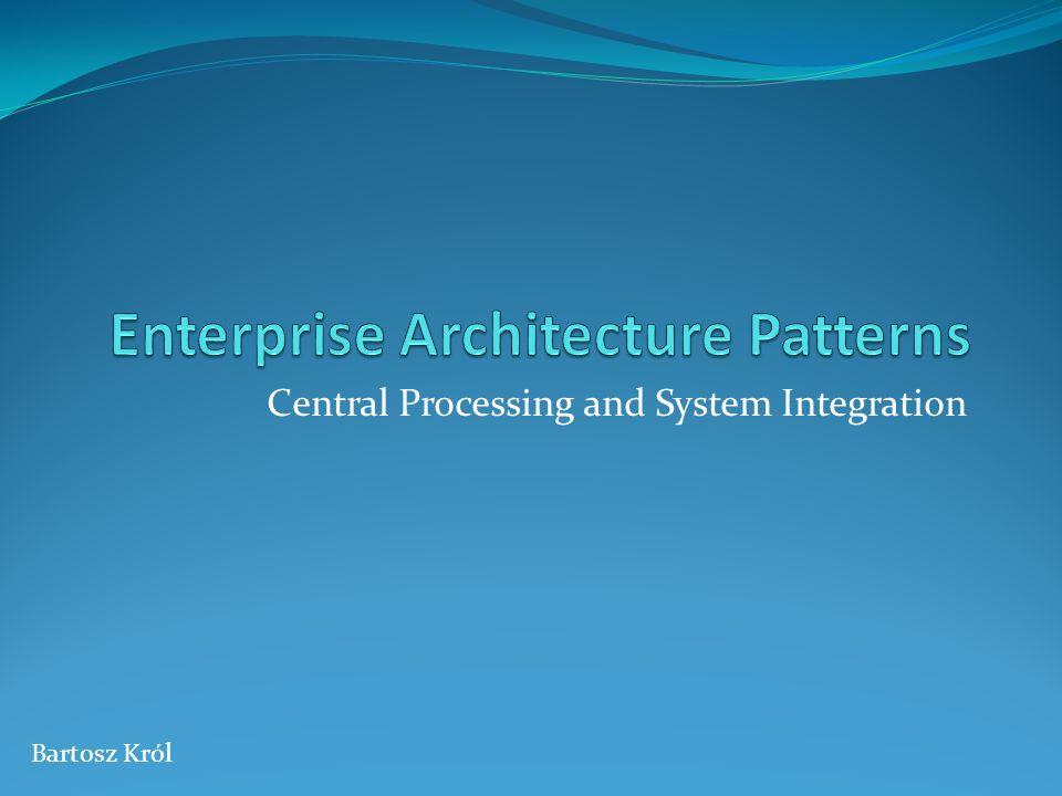 Plan Definicja procesu Analiza architektury Proponowana architektura Przykład zastosowania Szersza perspektywa Podsumowanie