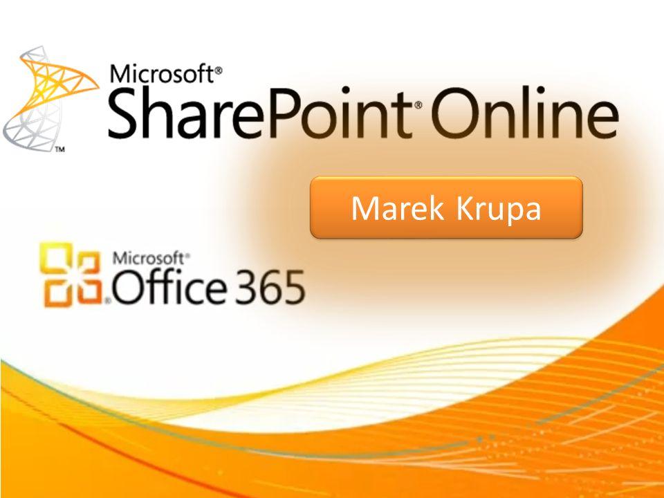 Coś o mnie Marek Krupa mar.kru@hotmail.com MCT, MCSE, MCITP: SharePoint administrator 2010 Trener/konsultant www.wss.pl http://krupa.bazzar.pl Technet MTS