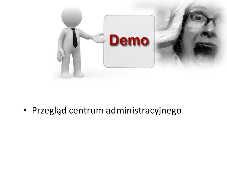 Przegląd centrum administracyjnego