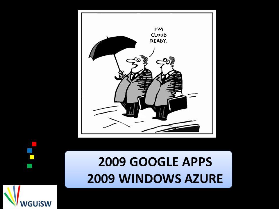 2009 GOOGLE APPS 2009 WINDOWS AZURE