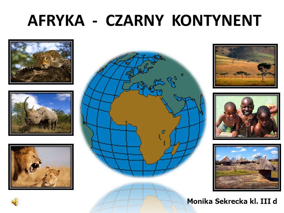 AFRYKA - CZARNY KONTYNENT Monika Sekrecka kl. III d