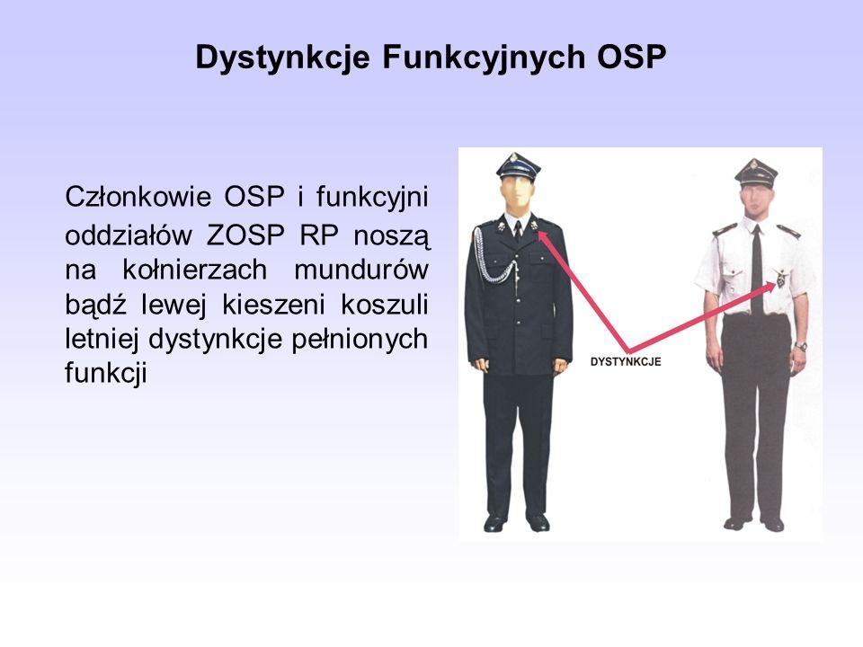 Dystynkcje Funkcyjnych OSP