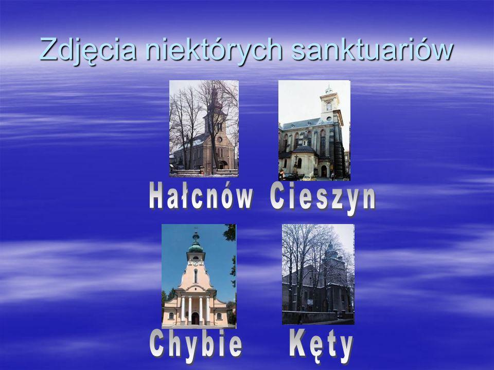 Zdjęcia niektórych sanktuariów