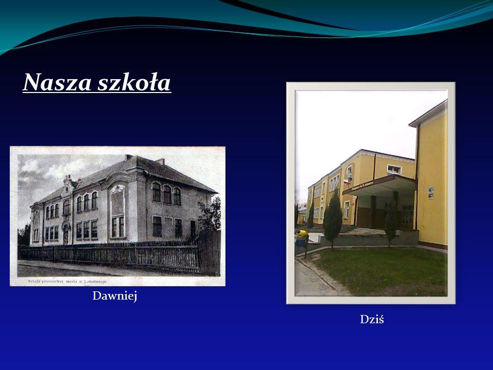 Wejście główne do szkoły