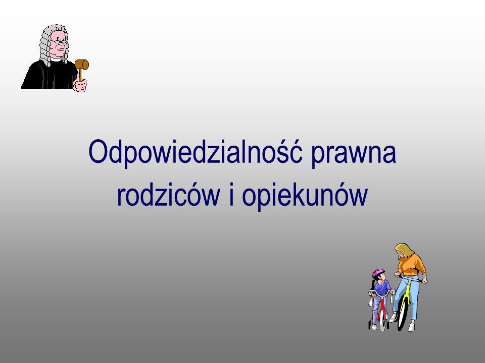 Odpowiedzialność prawna rodziców i opiekunów