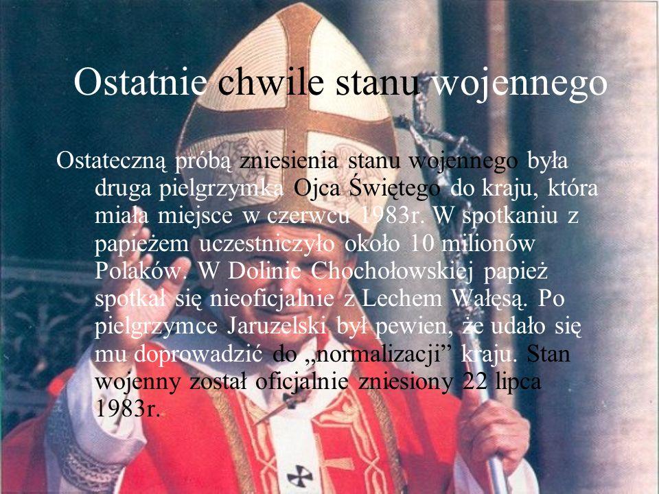 Zdrada narodu – czy Jaruzelski zawinił.