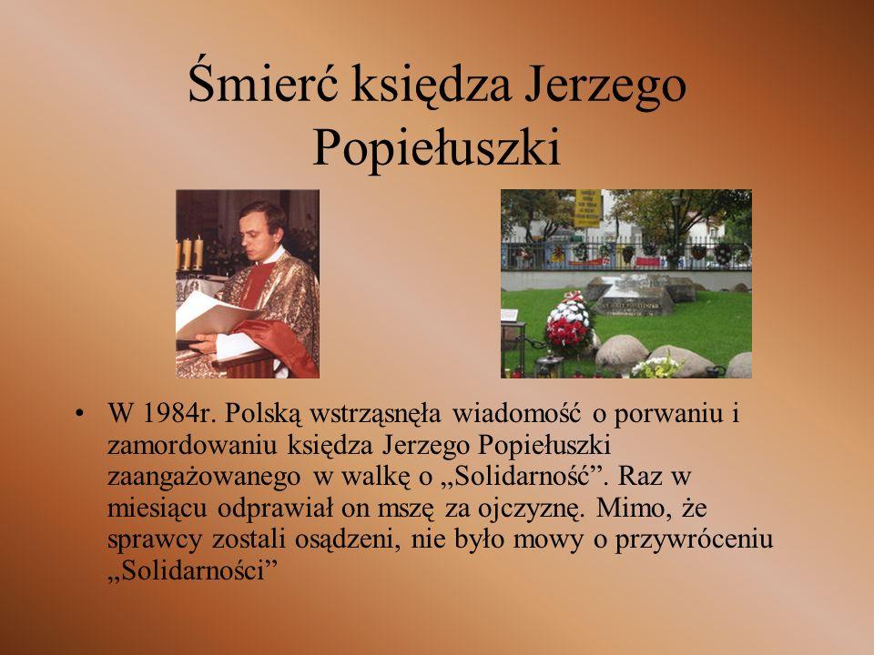Nobel dla Wałęsy Po zniesieniu stanu wojennego władze starały się skompromitować Wałęsę, co nie dało żadnych rezultatów.