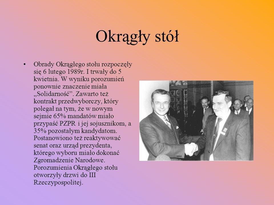 Nareszcie dialog. W 1988r.