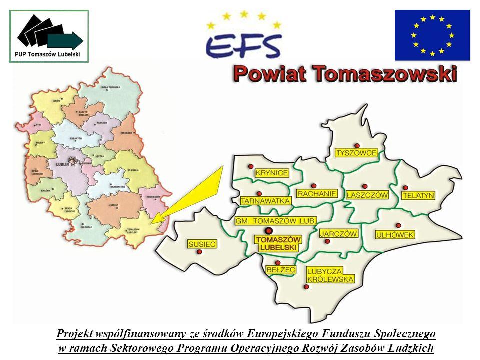 Projekt współfinansowany ze środków Europejskiego Funduszu Społecznego w ramach Sektorowego Programu Operacyjnego Rozwój Zasobów Ludzkich