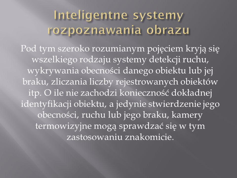 Pod tym szeroko rozumianym pojęciem kryją się wszelkiego rodzaju systemy detekcji ruchu, wykrywania obecności danego obiektu lub jej braku, zliczania liczby rejestrowanych obiektów itp.