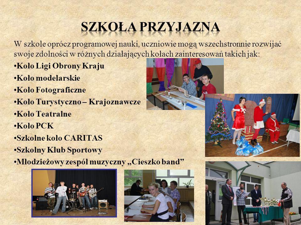 Od września 2012 Szkoła bierze udział w projekcie realizowanym przez firmę DC Edukacja Sp.