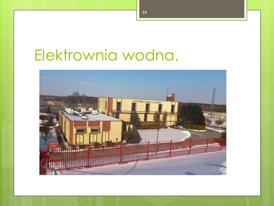 Elektrownia wodna. 14
